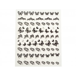 Stickers Schmetterling / Blatt