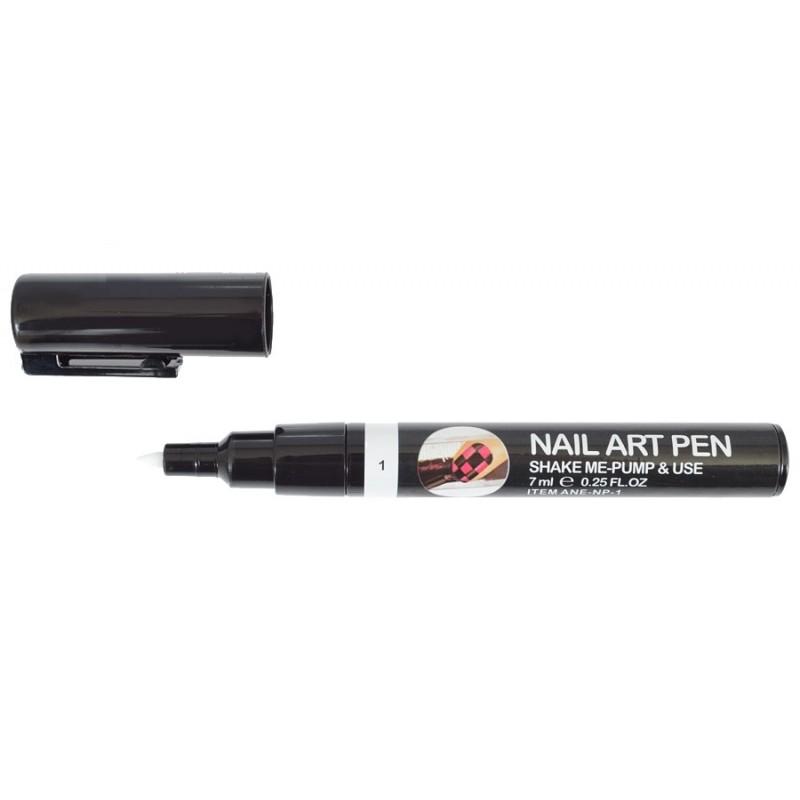 Nail Art Pen Blanc