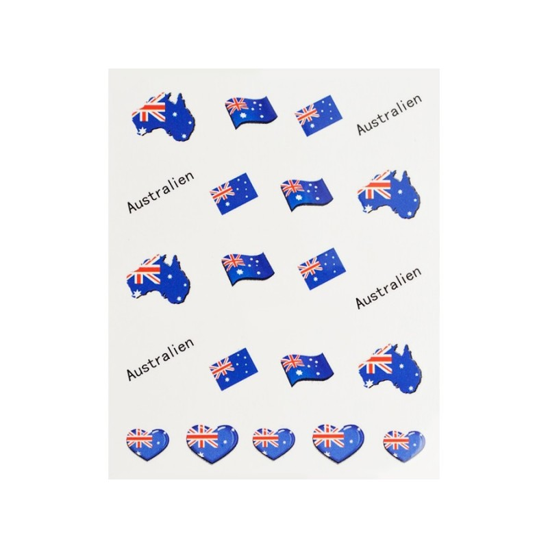 Stickers Drapeau Australie
