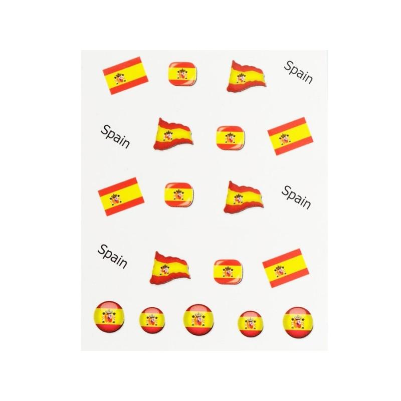 Stickers Flagge Spanien