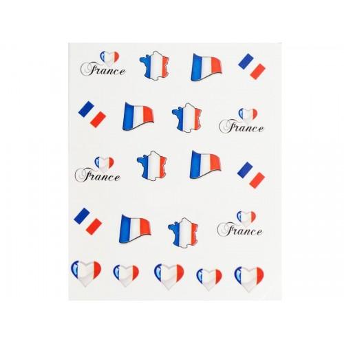 Stickers Drapeau France