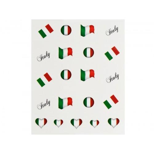 Stickers Flagge Italien