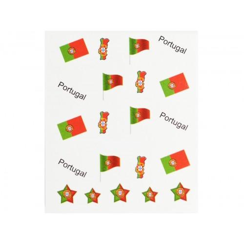 Stickers Drapeau Portugal