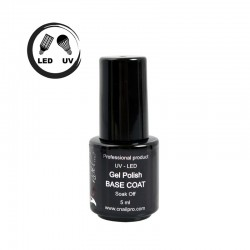 Vernis Semi-Permanent Base Coat UV / LED 5ml