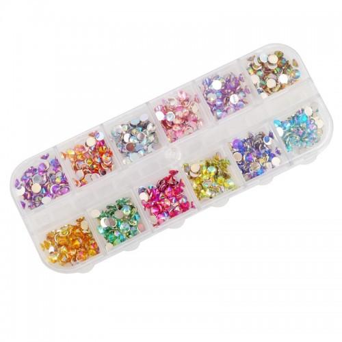 Diamants à facette 4mm 600pcs