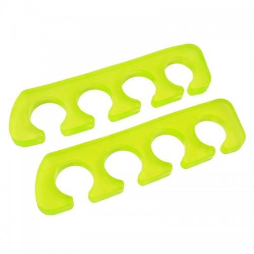 Séparateur d'orteils silicone vert