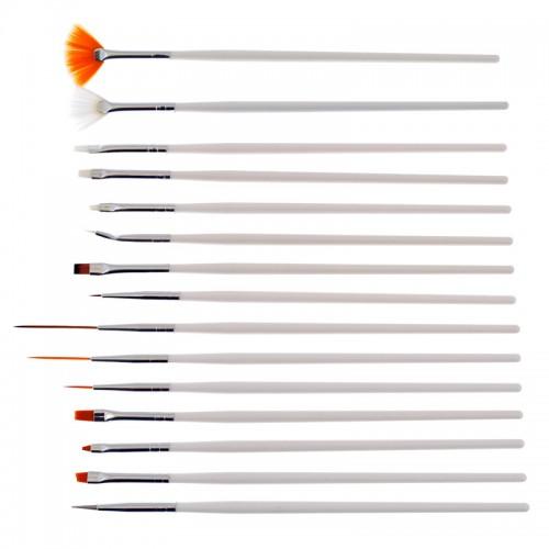 Pinceaux Nail Art Kit 3