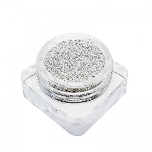 Glitters Silber glänzend