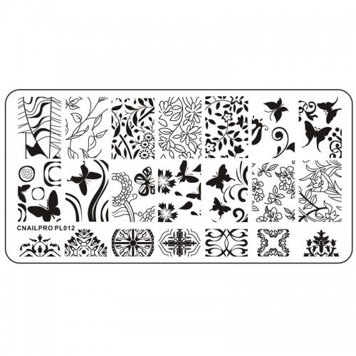 Plaque pour Stamping PL012
