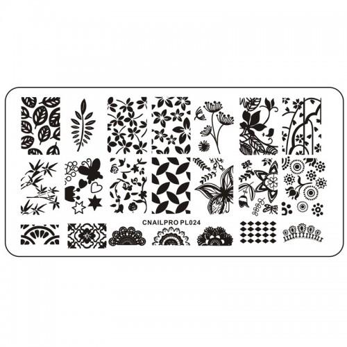 Schablone PL024 für Stamping