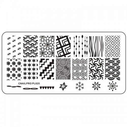 Plaque pour Stamping PL025