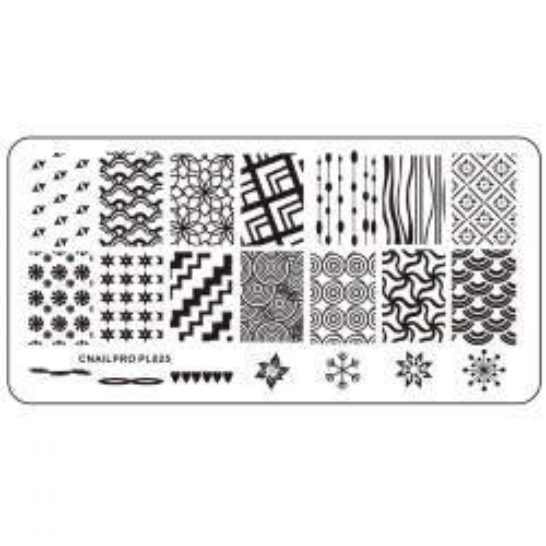 Schablone PL025 für Stamping