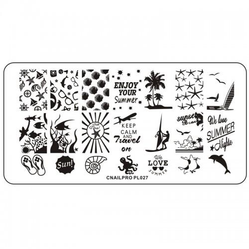 Plaque pour Stamping PL027