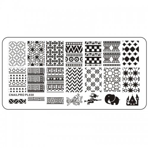 Schablone PL030 für Stamping