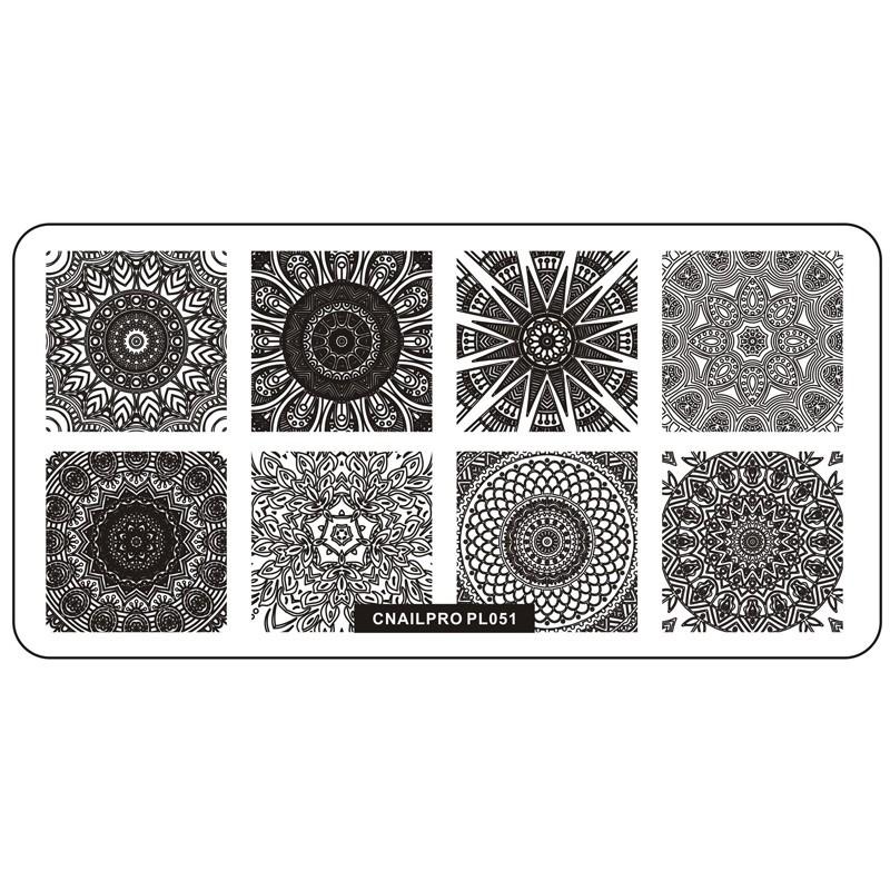 Schablone PL051 für Stamping