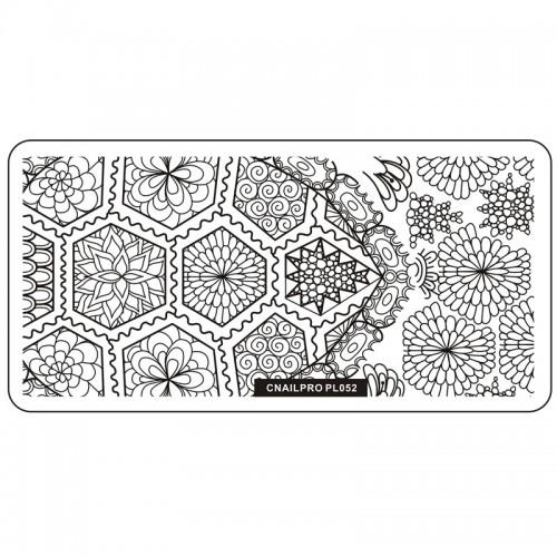 Schablone PL052 für Stamping