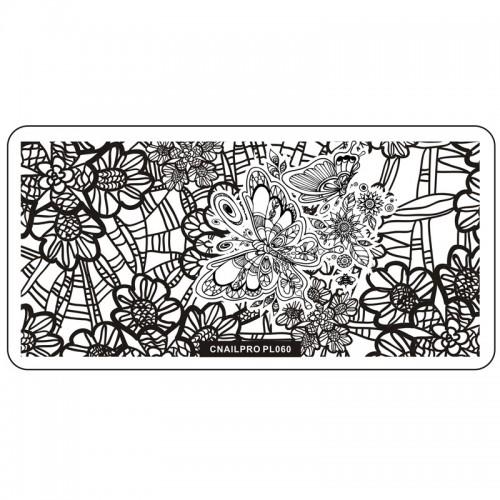 Schablone PL060 für Stamping
