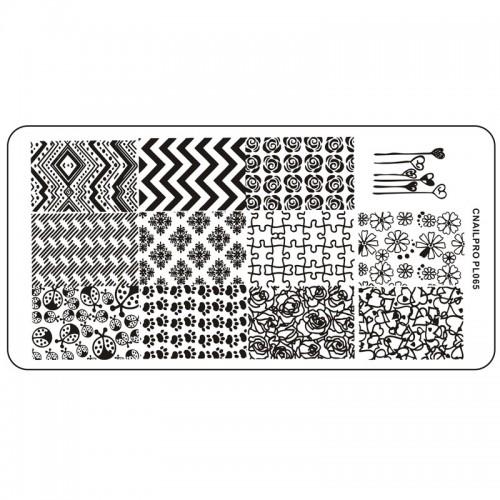 Schablone PL065 für Stamping