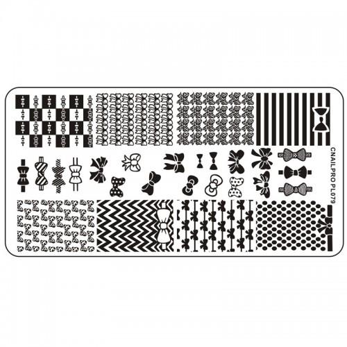 Schablone PL079 für Stamping