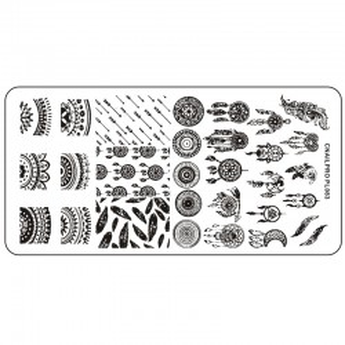 Schablone PL083 für Stamping