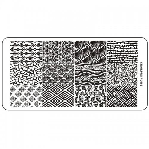 Schablone PL086 für Stamping