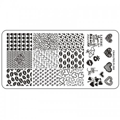 Schablone PL088 für Stamping