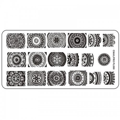 Schablone PL090 für Stamping