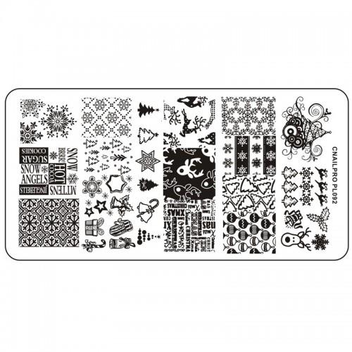 Schablone PL092 für Stamping