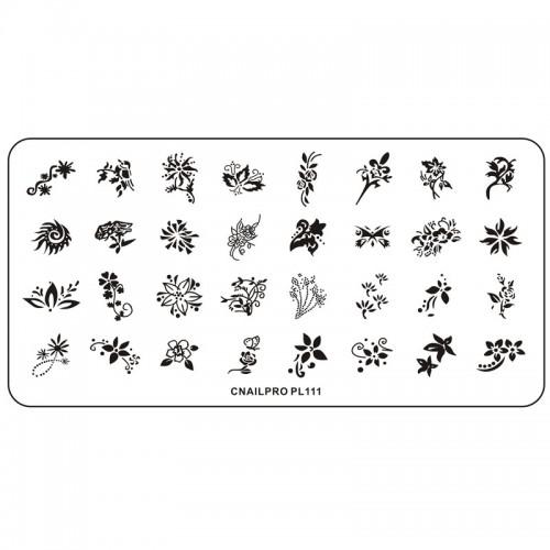 Schablone PL111 für Stamping