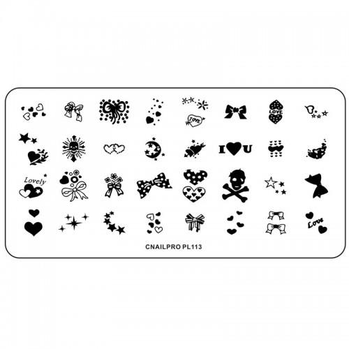 Schablone PL113 für Stamping