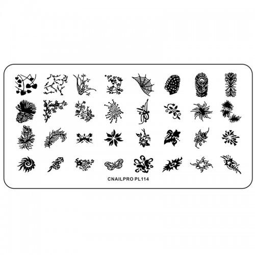 Schablone PL114 für Stamping