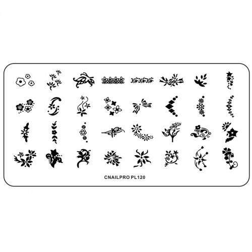 Schablone PL120 für Stamping