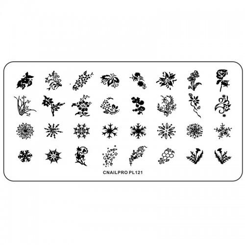 Schablone PL121 für Stamping