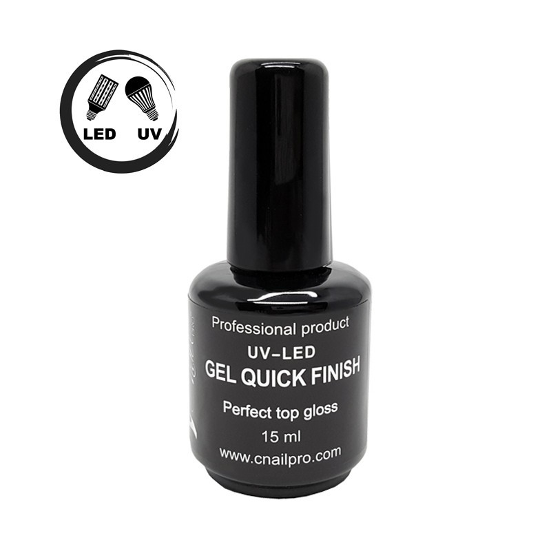 Gel Quick Finish UV / LED 15ml Perfect Top Gloss