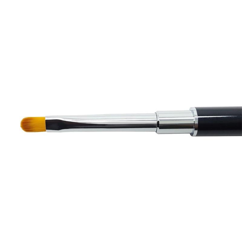 Spatule / Pinceau Acryl Gel Nr.5 rond métallique refermable