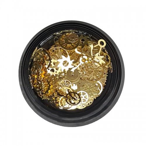 Metallschmuck Mechanismus Gold
