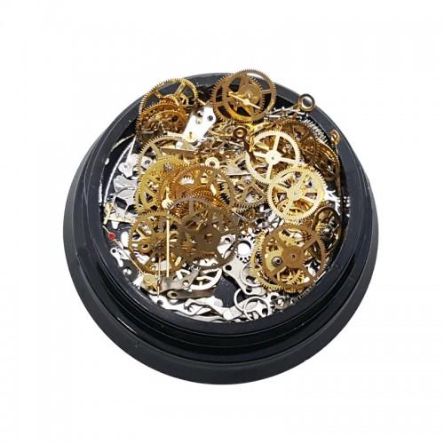 Metallschmuck Mechanismus Gold und Silber
