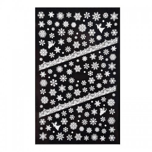 Stickers Noël Blanc F284