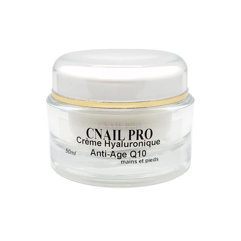 Crème Hyaluronique - Anti-âge Q10 Mains et Pieds