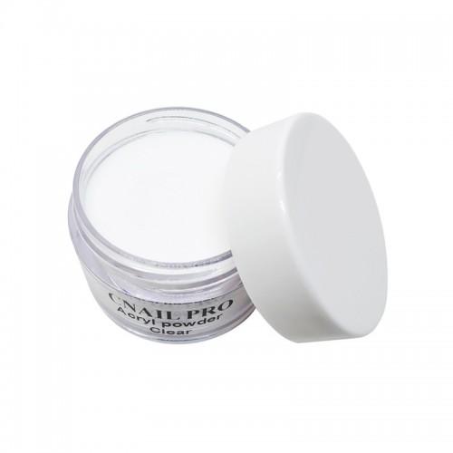 Poudre acrylique transparente ultra fine.  Idéal pour le modelage d'ongles en acrylique. Ultra résistant !