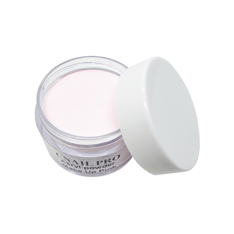 Poudre acrylique Rosé fine. Idéal pour le modelage d'ongles en acrylique. Effet naturel, ultra résistant !
