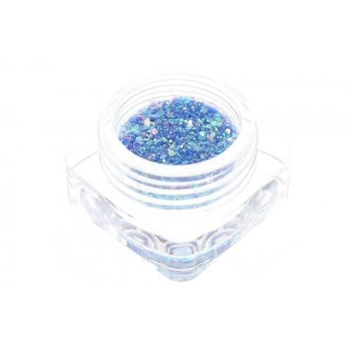 Paillettes bleu clair