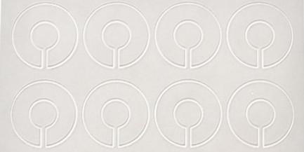Stickers Schablone