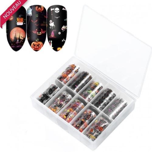 🧟♂️NOUVEAUTÉ 🧟♂️  Pour faciliter la décoration de vos ongles d'halloween.  Prix: 16.90chf Prix Pro: 13.50chf  #halloween #foilnailart #nailcrust #nailsmagazine #nailart #cnailpro