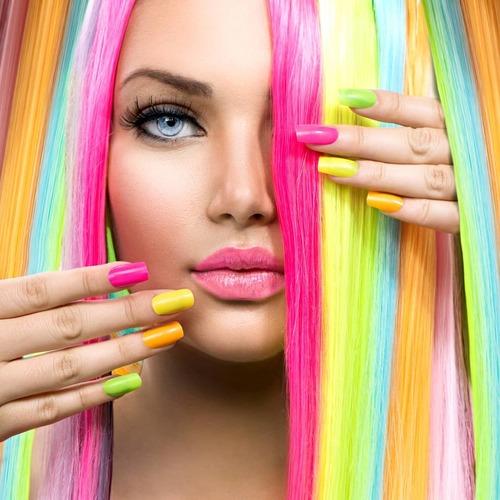 Des jolies couleurs chaudes pour la saison de vacances 🏖  #cnailpro #vacances #ongles #gelnails #polishgel #manucure #couleursfluo